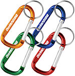 6mm Carabiner Keyrings